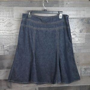 Chaps Denim Skirt